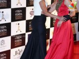Red Hot Katrina Kaif Spotted In Audi | Hindi Latest News | LO'real Femina Women Awards 2014