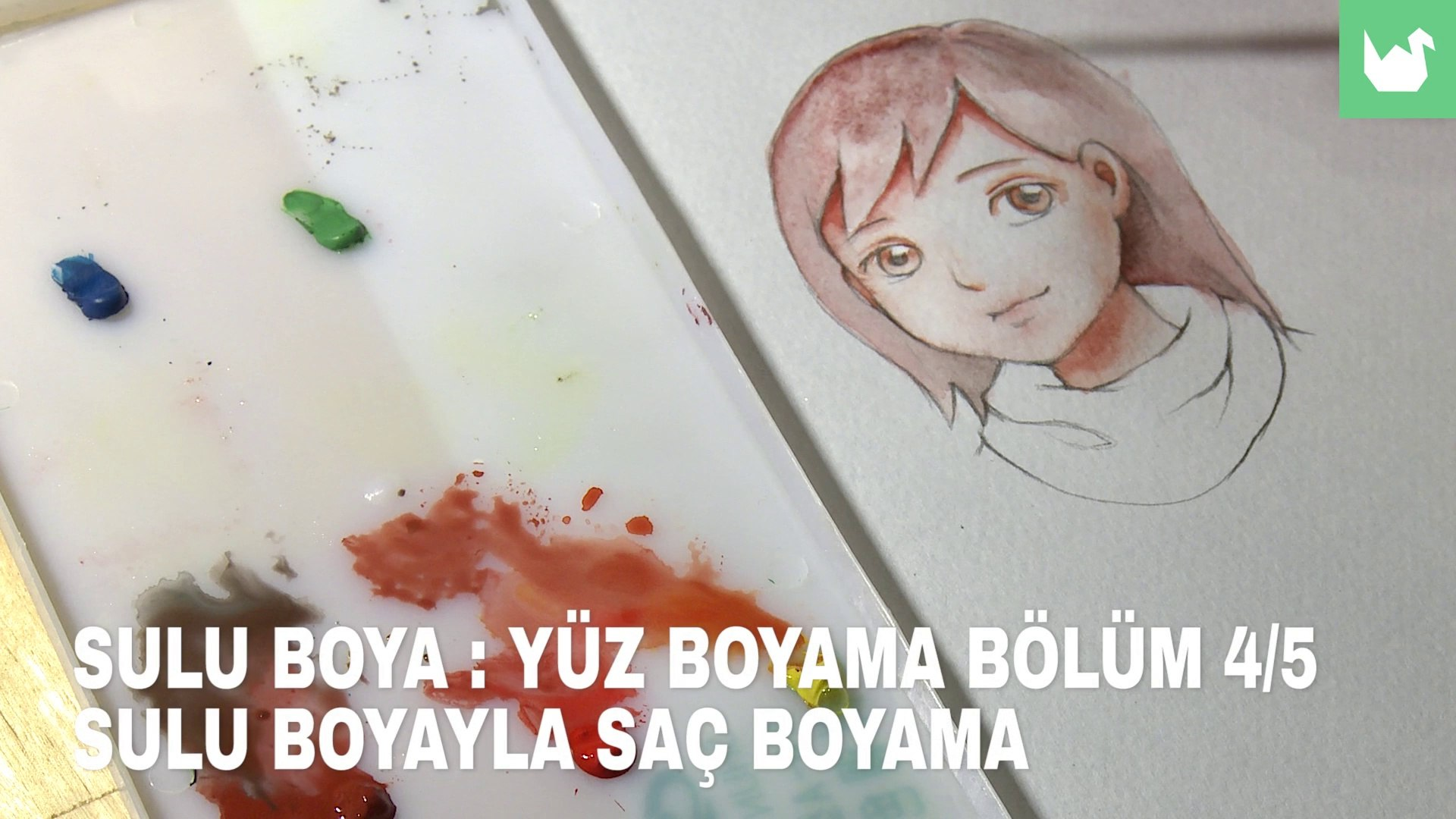 Sulu Boya Yuz Boyama 4 5 Sac Boyama Video Dailymotion