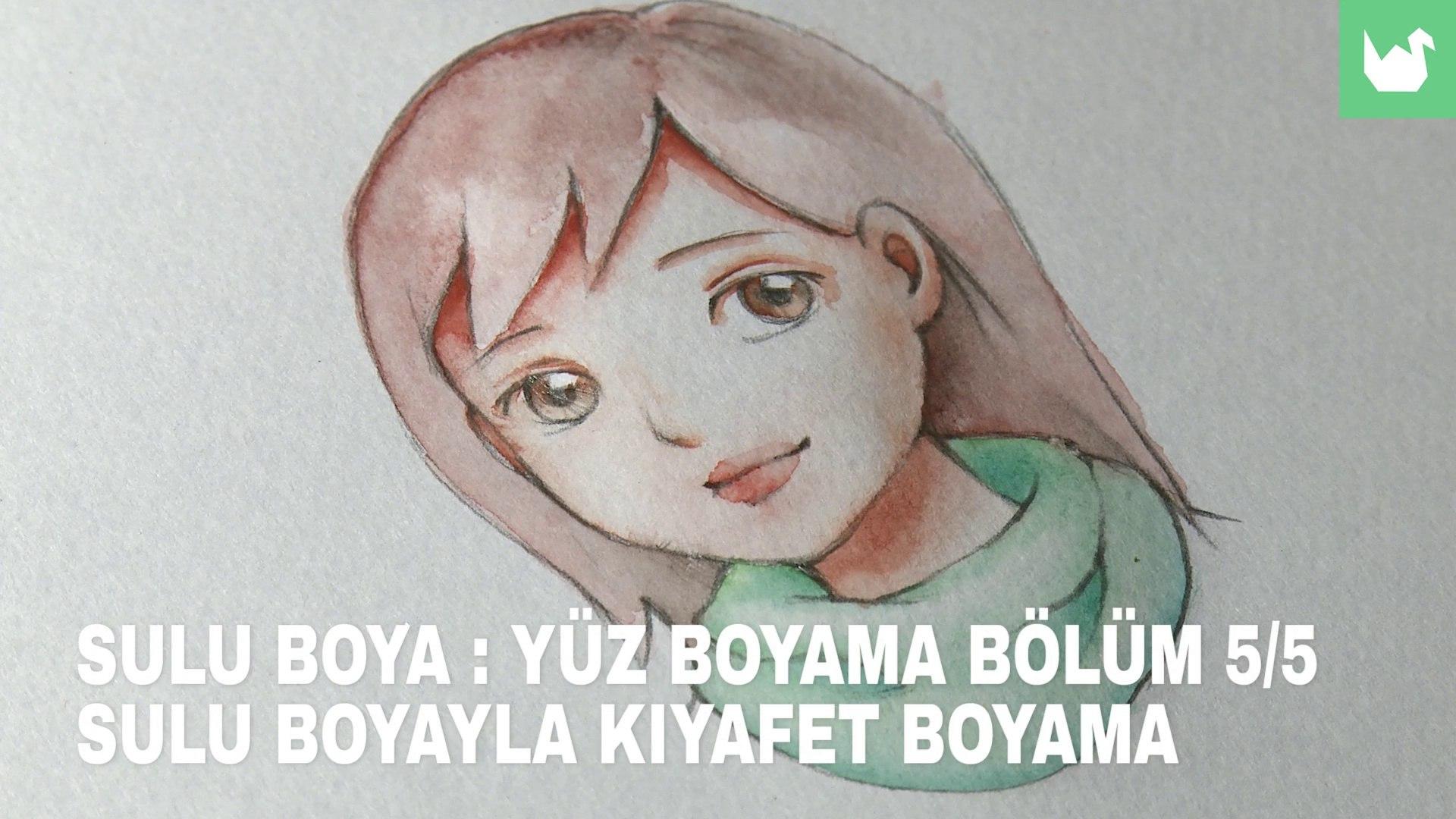 Sulu Boya Yuz Boyama 5 5 Kiyafet Boyama Video Dailymotion