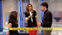 TV3 - Els Matins - La lesió de Gerard Piqué i les lesions de maluc