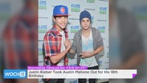 Justin Bieber Took Austin Mahone Out For His 18th Birthday