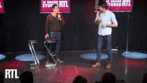 Kevin et Tom dans le Grand Studio RTL Humour de Laurent Boyer.