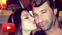 Sunny Leone Kisses Husband Daniel Weber On Date Night