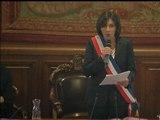 Anne Hidalgo élue maire de la capitale par les conseillers de Paris - 05/04