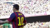 L Messi goal (FC Barcelona 1-0 Real Betis ) HD