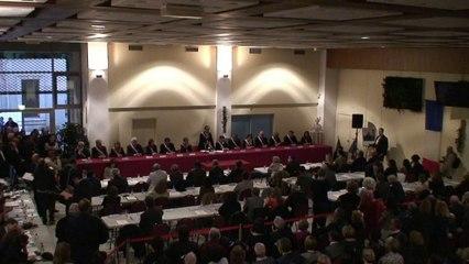 Béziers Municipale 2014 investiture du nouveau maire Robert Ménard