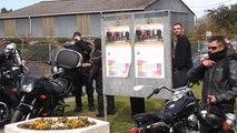P1012413   balade du 22 mars 2014 pour le don de moelle osseuse Arrêt à St mars la jaille