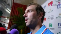 Coupe Davis Nancy : La réaction de Julien Benneteau après sa victoire en double