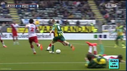Гол Майк ван Дейнен · Ден Хааг (Гаага) - Утрехт (Утрехт) - 2:0