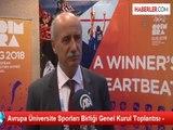 Avrupa Üniversite Sporları Birliği Genel Kurul Toplantısı -