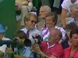 Wimbledon 1986 1/2 FINAL - Hana Mandlikova vs Chris Evert-Lloyd FULL MATCH