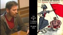 Une anarchiste oratrice therese Taugourdeau  -  Dictionnaire Biographique Maitron des anarchistes