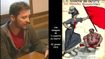 Une anarchiste oratrice therese Taugourdeau  -  Dictionnaire Biographique Maitron des anarchistes ( HD )