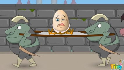 Humpty Dumpty Sat on a Wall -  Nursery Rhyme | Kids Song | HD