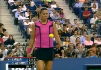 US Open 2004 1/4 FINAL - Jennifer Capriati vs Serena Williams FULL MATCH