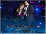 JOE DASSIN & HELENE SEGARA - DANS LES YEUX D'EMILIE - (avec la voix de Joe)