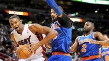 LeBron Scores 38, Heat Top Knicks 102-91