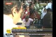 El último adiós a Óscar Avilés: restos descansan en paz en cementerio del Callao