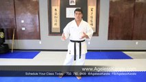 Las Vegas Martial Arts How To | Ageless Shotokan Karate Lessons pt. 8
