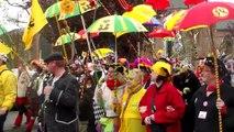 carnaval hazebrouck , le départ des géants