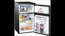 Midea HS-120L Compact Single Reversible Door Refrigerator with Freezer, 3.3 Cubic Feet