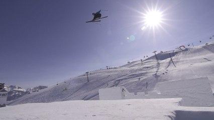 Un chateau de neige de 20m de haut... NineKnights Kevin Rolland 2013