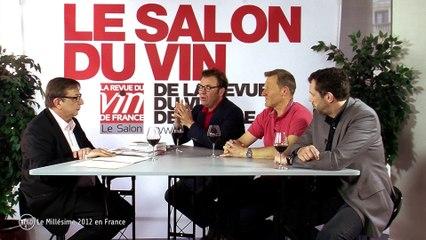 Le Grand Débat du vin sur @edonys - Retour sur le Millésime 2012 avec la RVF