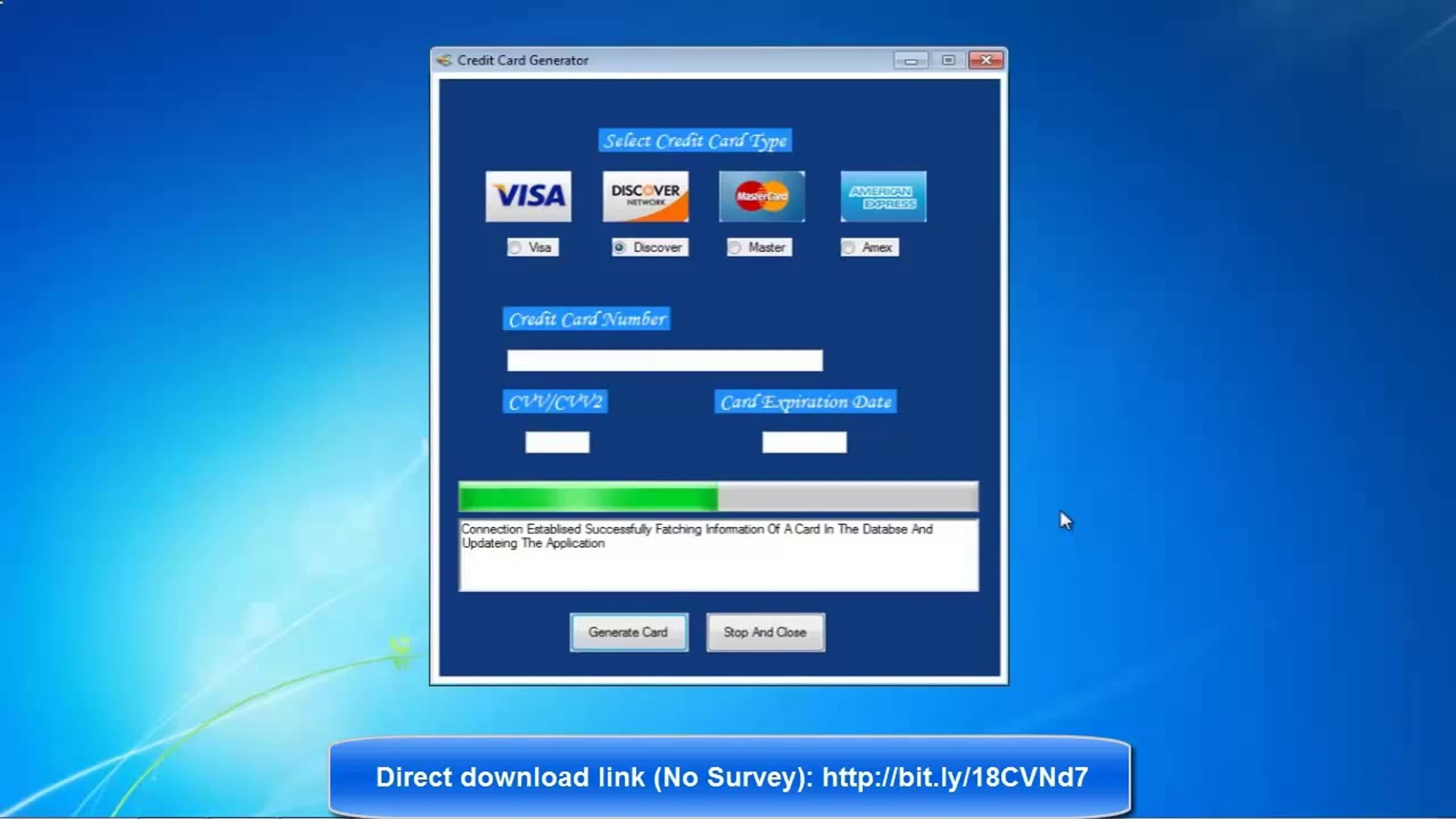 Credit Card Generator with CVV & Expiration Date - January 8 (Updated_No  Survey)