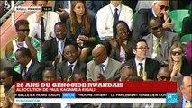"""Genocide rwandais : """"Les faits sont têtus"""" dit Paul Kagame, président du Rwanda"""