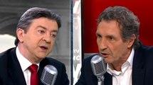 Clash entre Jean-Luc Mélanchon et Jean-Jacques Bourdin - ZAPPING ACTU DU 07/04/2014