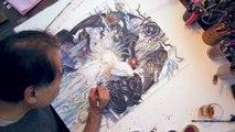 """Child of Light   """"Yoshitaka Amano"""" Artwork Trailer   DE"""