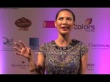 Former Miss India Rochelle Maria Rao at the Femina Miss India 2014 event red carpet