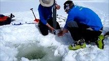 campagne chimie hivernale des lacs suivis en 2013 - Réserve Naturelle Passy