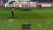 Pro Evolution Soccer 2012 Android Gameplay Sevilla F.C  vs Juventus F.C