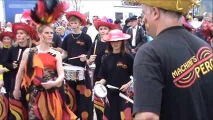 Carnaval d'Ygrande 06-04-2014 avec les machine's percu