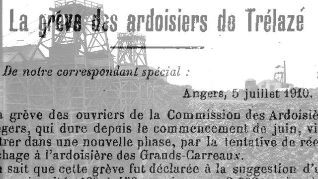 L'anarcho-syndicalisme à Trélazé, Angers, dans les carrières d'ardoises. Dictionnaire des anarchistes