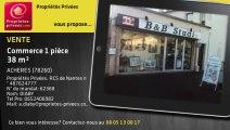 A vendre - boutique - ACHERES (78260) - 1 pièce - 38m²
