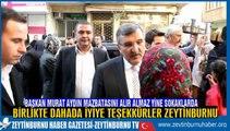 Zeytinburnu Belediye Başkanı Murat Aydın Baharın Gelmesiyle Fesleğen Dağıtmaya Başladı