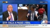 BFM Story - Édition spéciale sur le discours de Manuel Valls à l'Assemblée nationale - 08/04 4/7