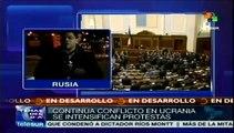 Crisis de Ucrania: prorrusos proclaman independencia de 2 regiones