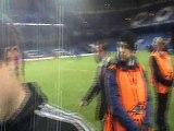 PlanetePSG.com : Cesar Azpilicueta revient en zone mixte après la qualification de Chelsea face au PSG (2-0)