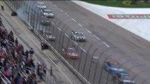 Un crash violent en NASCAR... La voiture fini en feu!