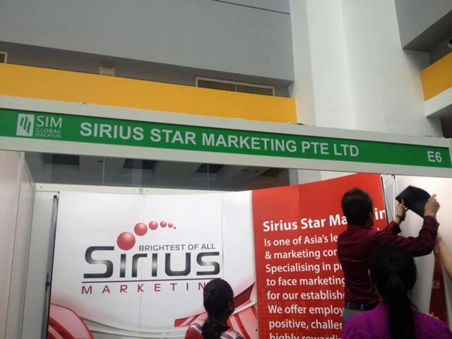Sirius Star Marketing Pte Ltd @ SIM Global Job Fair