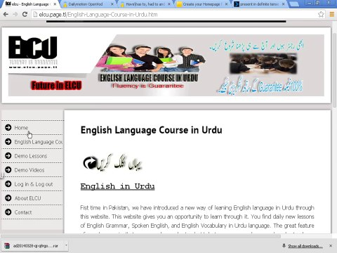 Complete English language course in Urdu- Do Watch
