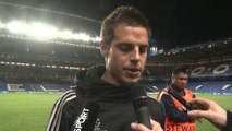 "Quarts - Azpilicueta : ""On savait quoi faire"""