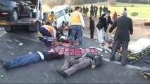 Katliam Gibi Kaza: 9 Ölü, 12 Yaralı