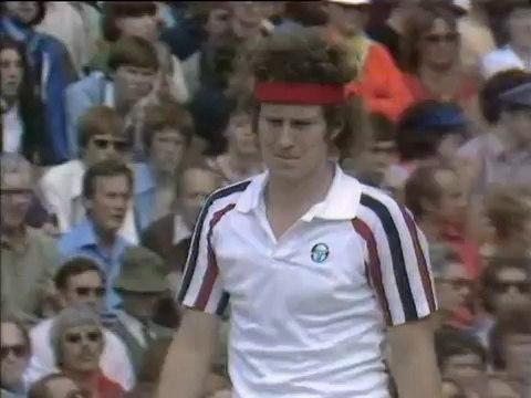 Wimbledon 1980 FINAL - Bjorn Borg vs John McEnroe FULL MATCH