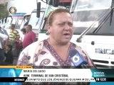 Boletos en el terminal de pasajeros de San Cristóbal costarán desde Bs. 230 en Semana Santa