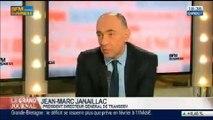 Jean-Marc Janaillac, président directeur général de Transdev, dans Le Grand Journal - 09/04 3/4