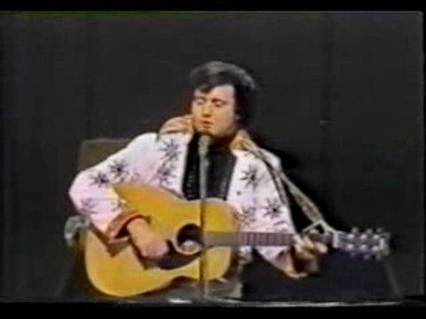 Andy Kaufman - Elvis Impersonation